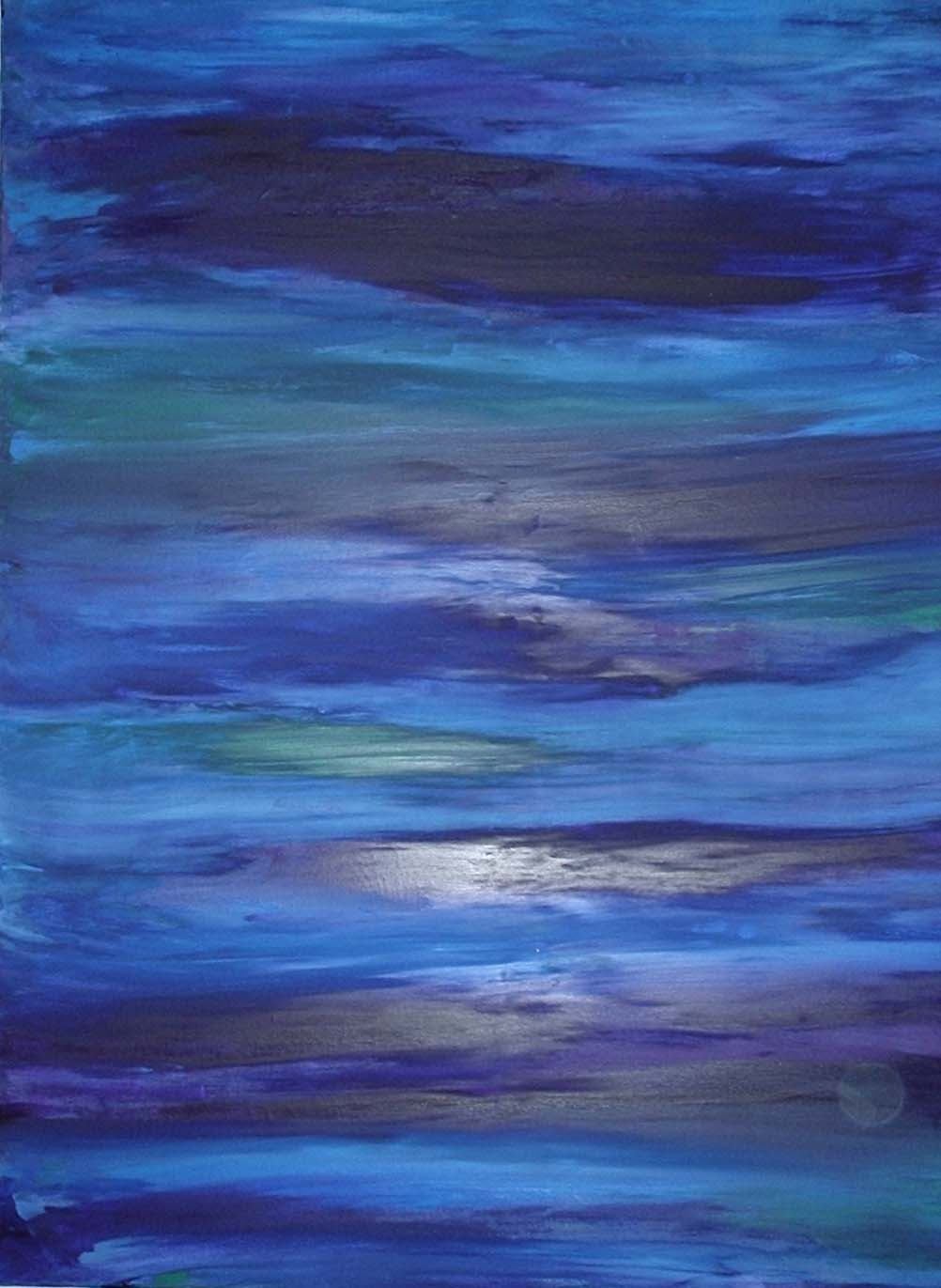 Waves of Tranquility 81cm x 102 cm Sold